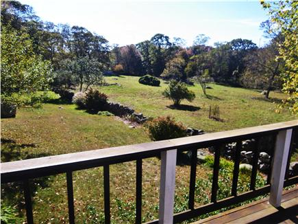 Chilmark Martha's Vineyard vacation rental - Meadow and view of very old stone walls