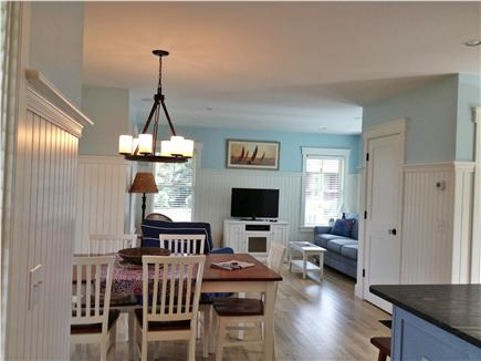 Oak Bluffs Martha's Vineyard vacation rental - Dining for Eight with French Door to the Porch