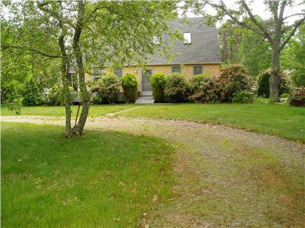 Katama - Edgartown, Edgartown Martha's Vineyard vacation rental - From the street - circular driveway