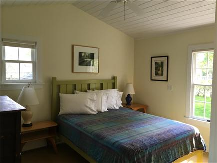 Oak Bluffs Martha's Vineyard vacation rental - Queen bedroom, first floor, air conditioned, ceiling fan