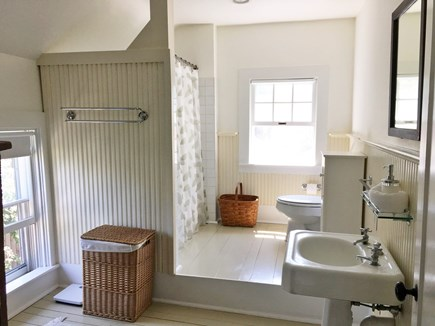 Oak Bluffs Martha's Vineyard vacation rental - Upstairs bath, sunny & roomy (additional full bath on 1st floor)