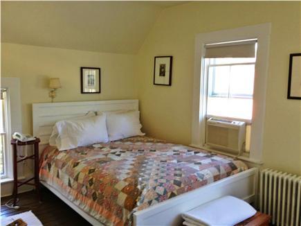 Oak Bluffs Martha's Vineyard vacation rental - Queen bedroom, second floor, air conditioned, ceiling fan