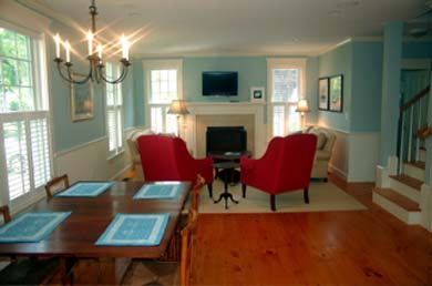 Edgartown Martha's Vineyard vacation rental - Open floor plan with lots of windows