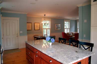Edgartown Martha's Vineyard vacation rental - Spacious living with large island