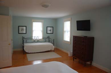 Edgartown Martha's Vineyard vacation rental - 2nd Floor bedroom with king bed and day bed