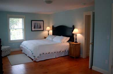 Edgartown Martha's Vineyard vacation rental - 2nd Floor bedroom with king bed and day bed (2nd photo)