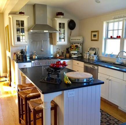 Edgartown Martha's Vineyard vacation rental - Well Appointed Kitchen,  We love to cook too of line Equipment