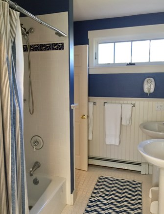 Edgartown Martha's Vineyard vacation rental - 1st floor Bath for Queen Bedroom