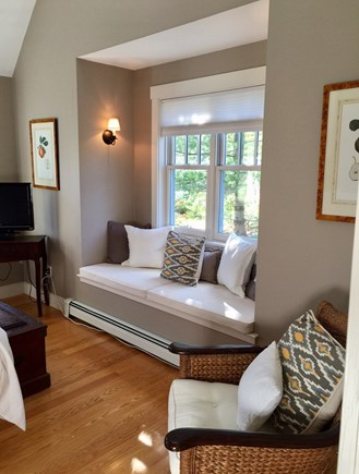 Edgartown Martha's Vineyard vacation rental - Master First Floor BR Suite KING window seat