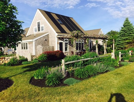Edgartown Martha's Vineyard vacation rental - Main House sits overlooking lawns, gardens and a 2 acre meadow