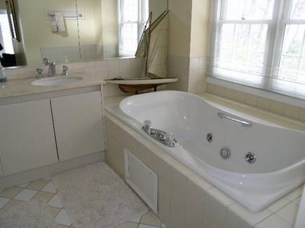 Vineyard Haven Martha's Vineyard vacation rental - Master bath includes separate shower and dual sinks