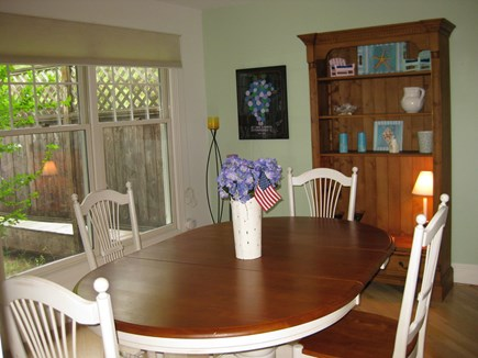 Vineyard Haven Martha's Vineyard vacation rental - Large dining area off the LR can accommodate all your guests