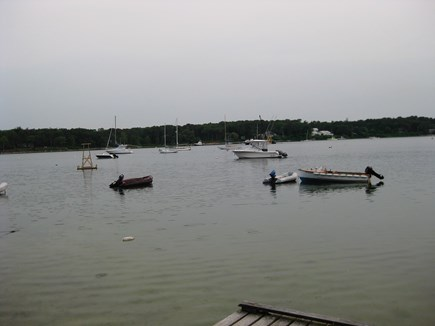 Vineyard Haven Martha's Vineyard vacation rental - Private dock at Tashmoo is a great place to launch the kayak