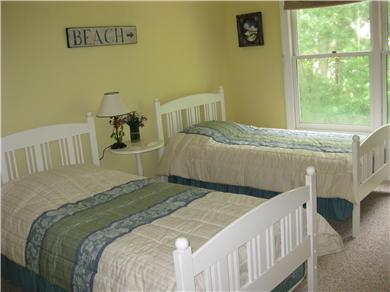 Vineyard Haven Martha's Vineyard vacation rental - 2nd bedroom includes two twins and trundle bed (not shown)