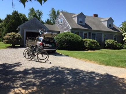 Katama - Edgartown, Edgartown,Katama    1.5 miles  Martha's Vineyard vacation rental - The lawn surrounds the house