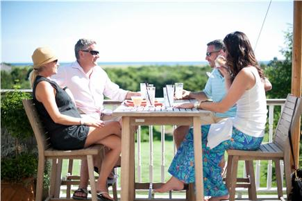 Edgartown Martha's Vineyard vacation rental - Enjoy dinner at The Dunes Restaurant overlooking South Beach