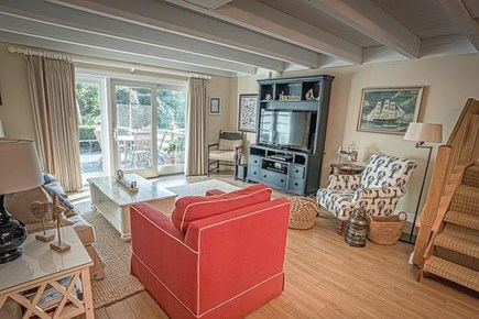 Edgartown Martha's Vineyard vacation rental - Living Room Area