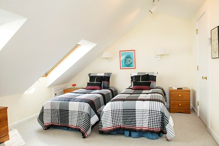 Edgartown Martha's Vineyard vacation rental - Guest Bedroom #3 in the loft with 2 twin beds