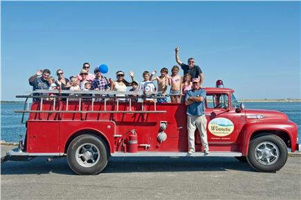 Edgartown Martha's Vineyard vacation rental - Enjoy a complimentary ride on our antique fire truck!