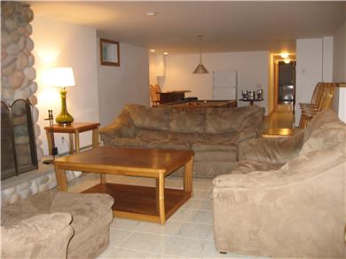 Oak Bluffs Martha's Vineyard vacation rental - View of game room and bar from another sitting area