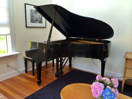 Vineyard Haven Martha's Vineyard vacation rental - Martha's Vineyard Rental Steinway Baby Grand Piano
