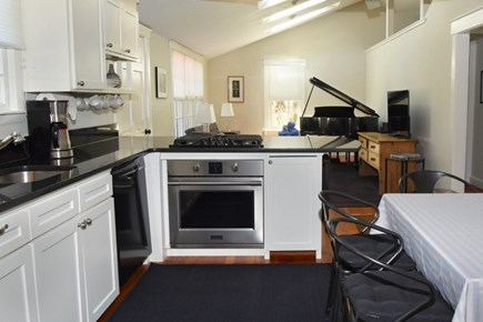 Vineyard Haven Martha's Vineyard vacation rental - Kitchen with new appliances: New oven, Cook-top and dishwasher