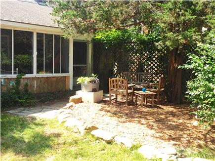 Oak Bluffs Martha's Vineyard vacation rental - Front of house on semi-private road next to Farm Pond