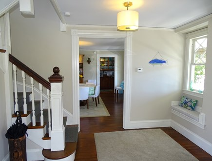 Vineyard Haven Martha's Vineyard vacation rental - Hallway that leads from living to dining room