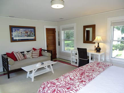 Vineyard Haven Martha's Vineyard vacation rental - King bedroom with sitting area