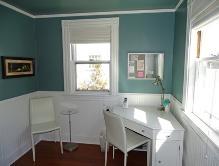 Vineyard Haven Martha's Vineyard vacation rental - Office area, adjacent to kitchen