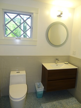 Vineyard Haven Martha's Vineyard vacation rental - First floor newly added powder room, off office