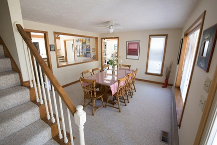 Edgartown Martha's Vineyard vacation rental - Dining Room, Seats 8 plus Breakfast Bar