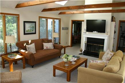 Edgartown Martha's Vineyard vacation rental - Living Room / Family Room