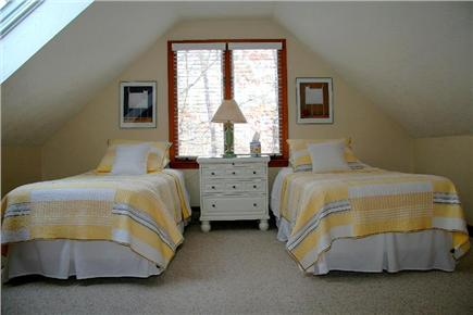Edgartown Martha's Vineyard vacation rental - 2nd Floor Twin Bedroom