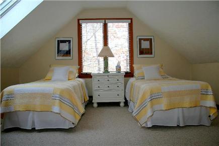 Edgartown Martha's Vineyard vacation rental - 2nd Floor Twin Bedroom