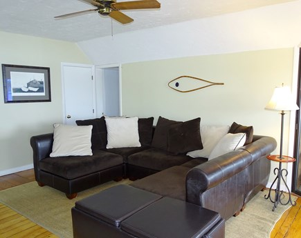 Oak Bluffs Martha's Vineyard vacation rental - Spacious living room with flat screen TV