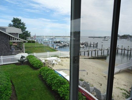Oak Bluffs Martha's Vineyard vacation rental - View from sun room, overlooking Oak Bluffs harbor