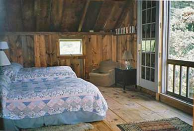 West Tisbury Martha's Vineyard vacation rental - Loft has two double beds and french doors that let in the breeze