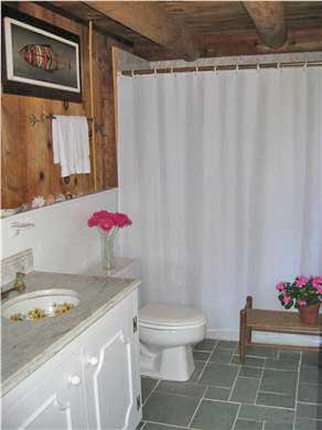 West Tisbury Martha's Vineyard vacation rental - Downstairs bathroom (another half-bath is located upstairs)