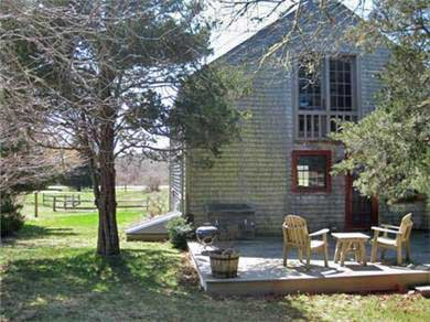 West Tisbury Martha's Vineyard vacation rental - Deck has plenty of seating for chillin' and grillin'