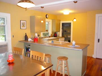 Edgartown Martha's Vineyard vacation rental - Eat in Kitchen