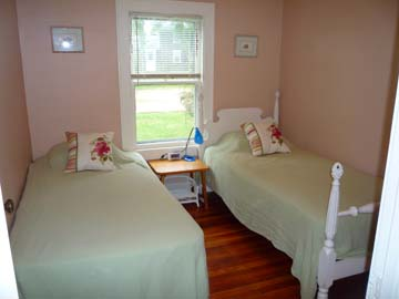 Edgartown Martha's Vineyard vacation rental - Guest Bedroom with 2 Twin Beds