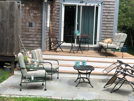 Vineyard Haven Martha's Vineyard vacation rental - deck and patio off  dining room