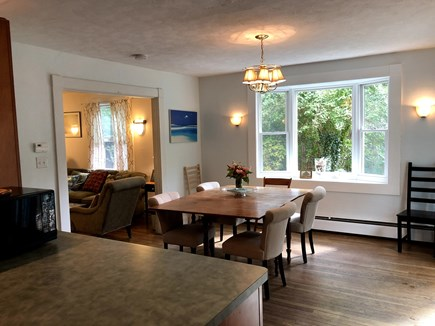 Vineyard Haven Martha's Vineyard vacation rental - View from kitchen into dining room