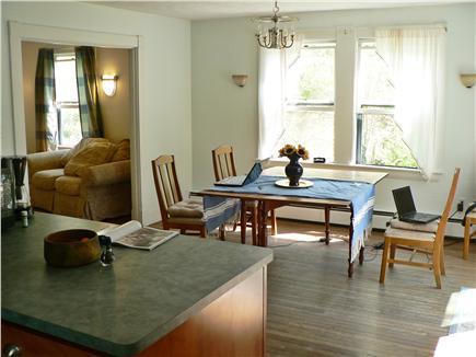 Vineyard Haven Martha's Vineyard vacation rental - Dining room into living room