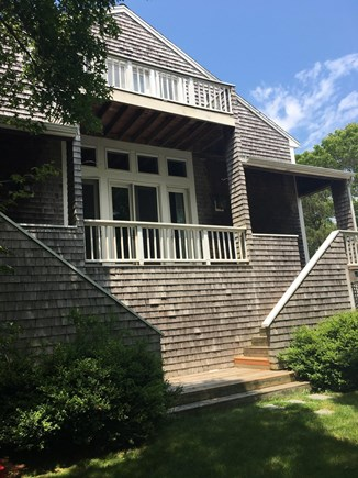 Edgartown Martha's Vineyard vacation rental - The house! Lots of woods.