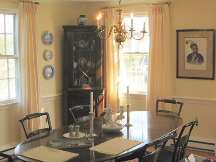 Edgartown Martha's Vineyard vacation rental - Main house Dining Room