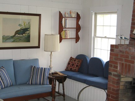 Edgartown Martha's Vineyard vacation rental - Guest house living room