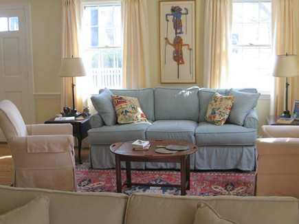Edgartown Martha's Vineyard vacation rental - Main house living room