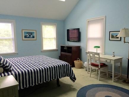Edgartown Martha's Vineyard vacation rental - Our large and airy master bedroom (king bed, en suite bathroom)